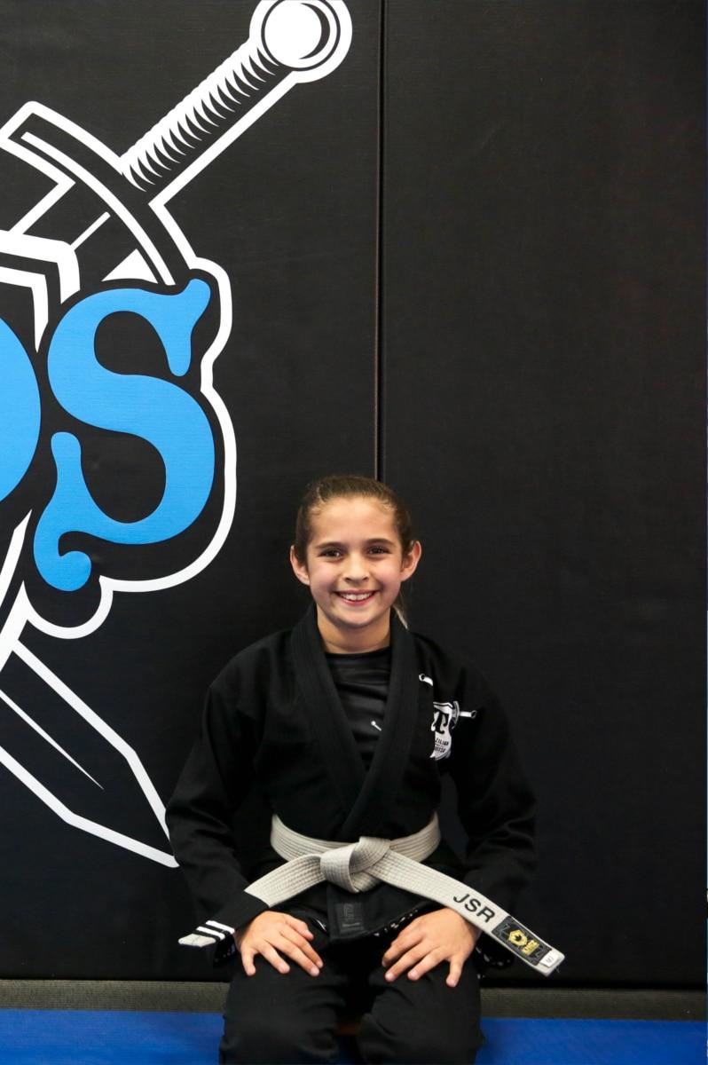 NOS Brazialian Jiu Jitsu - Kids Seminar - Hero 1 - Jadeya Reber
