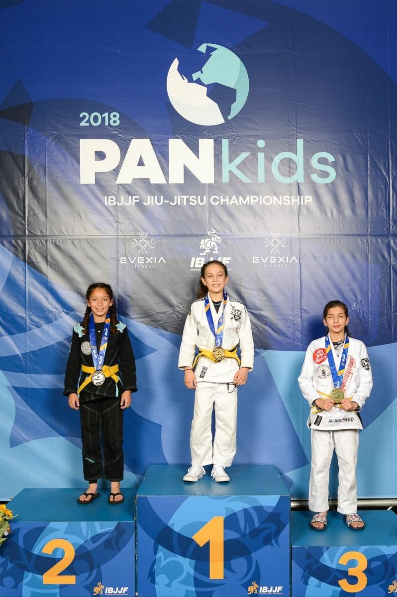 NOS Brazialian Jiu Jitsu - Kids Seminar - Lillian Marchand